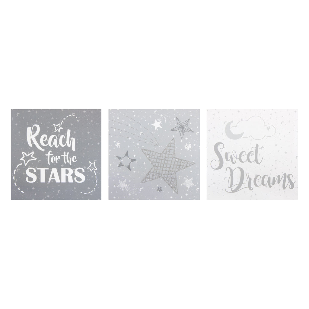 Moon and Stars Canvas Wall Art 3 Pack103551$21.99Trend Lab