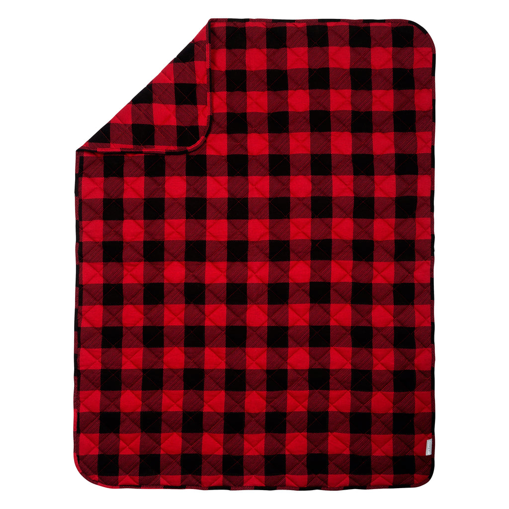 Buffalo Check Reversible Jersey Crib Quilt103565$21.99Trend Lab