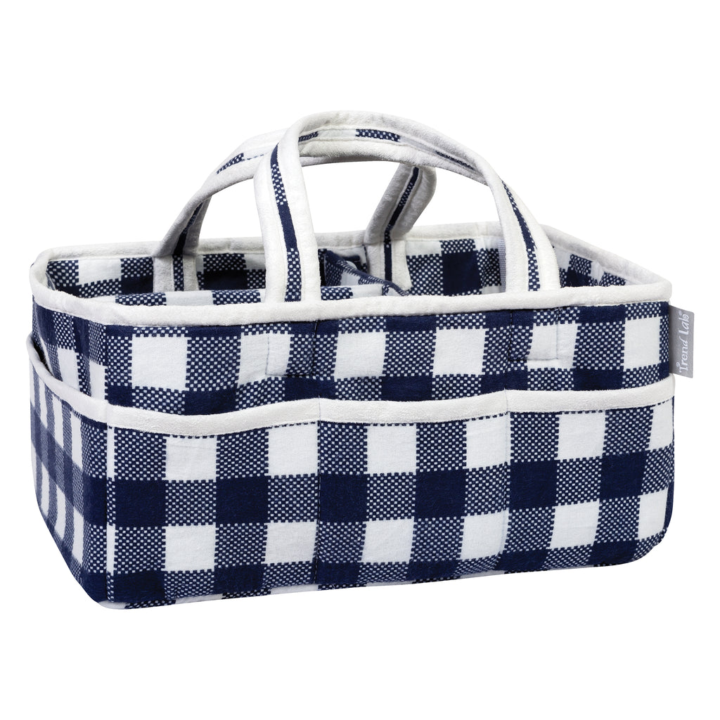 Navy and White Buffalo Check Storage Caddy103586$24.99Trend Lab