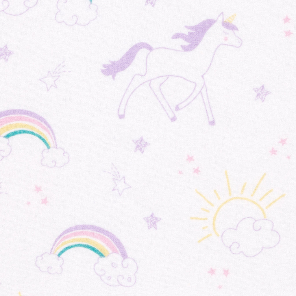 Unicorn Rainbow Deluxe Flannel Changing Pad Cover103631$14.99Trend Lab