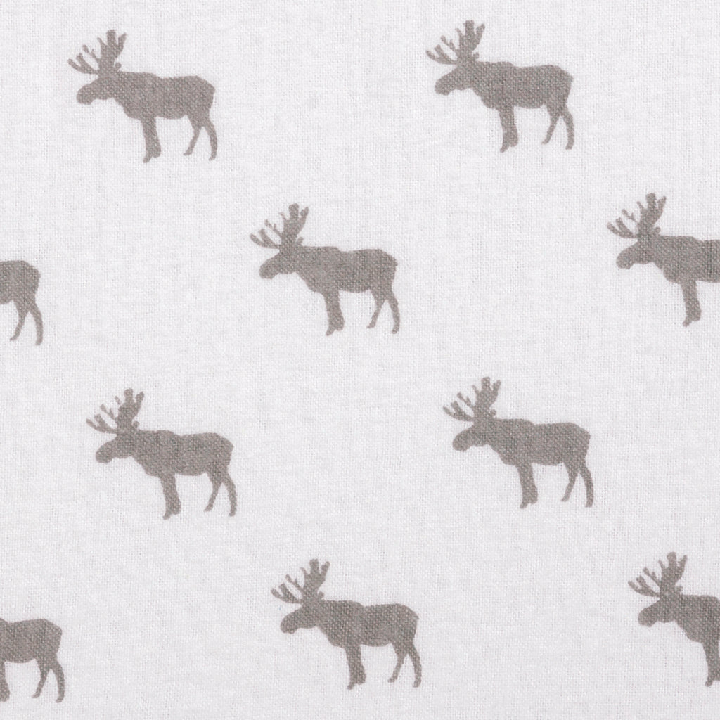 Moose Silhouette Deluxe Flannel Changing Pad Cover Trend Lab, LLC