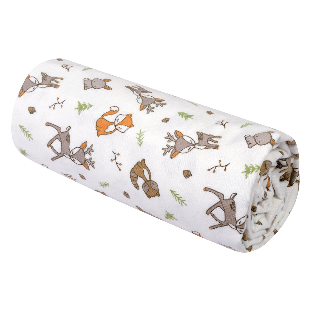 Forest Nap Jumbo Deluxe Flannel Swaddle Blanket