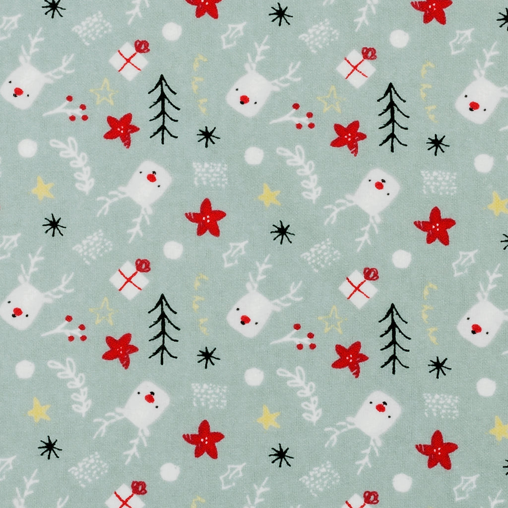 Reindeer Gifts Deluxe Flannel Fitted Crib Sheet103657$17.99Trend Lab