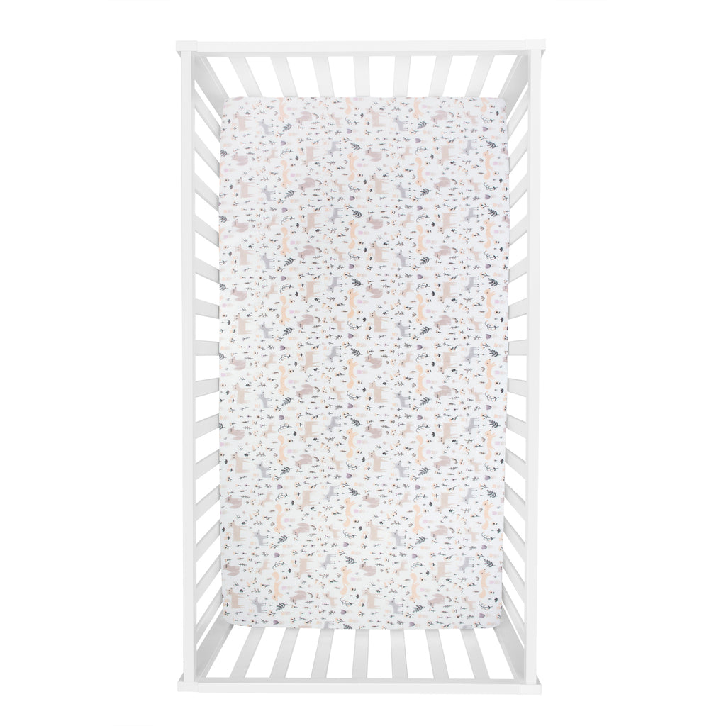 Mystical Forest Deluxe Flannel Crib Sheet103767$17.99Trend Lab