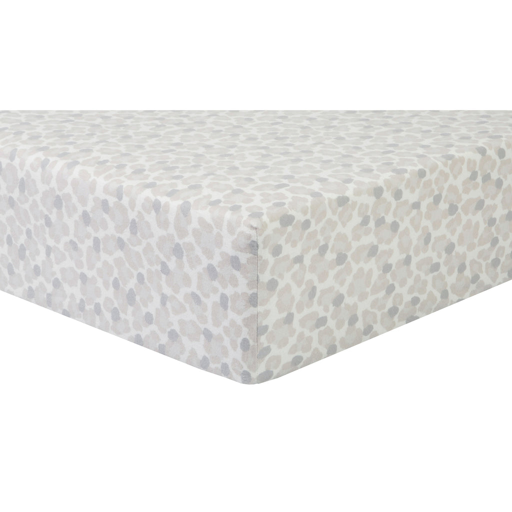 Leopard Deluxe Flannel Crib Sheet103770$17.99Trend Lab
