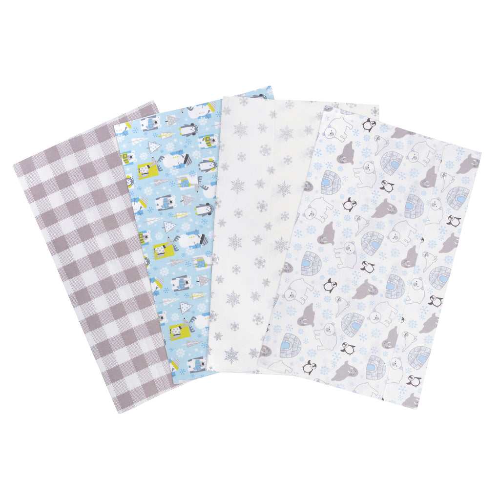 Igloo Pals Flannel 4-Pack Burp Cloths from Trend Lab103774$12.99Trend Lab