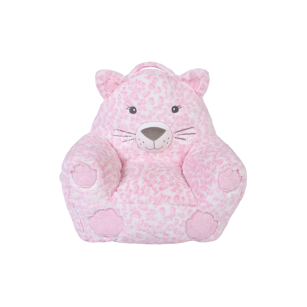Cuddo Buddies Plush Pink Leopard Character Chair103786$49.99Trend Lab