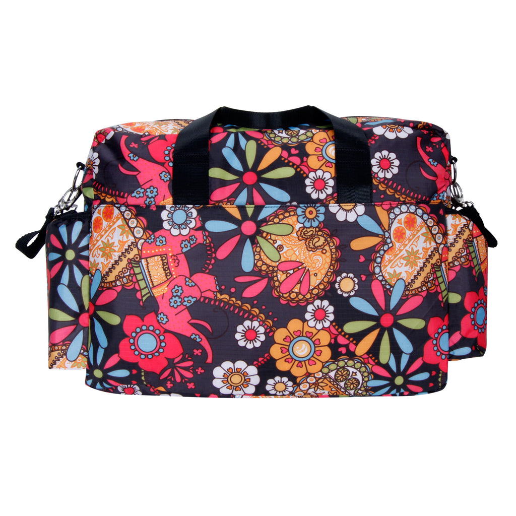 Bohemian Floral Deluxe Duffle Style Diaper Bag104330$44.99Trend Lab