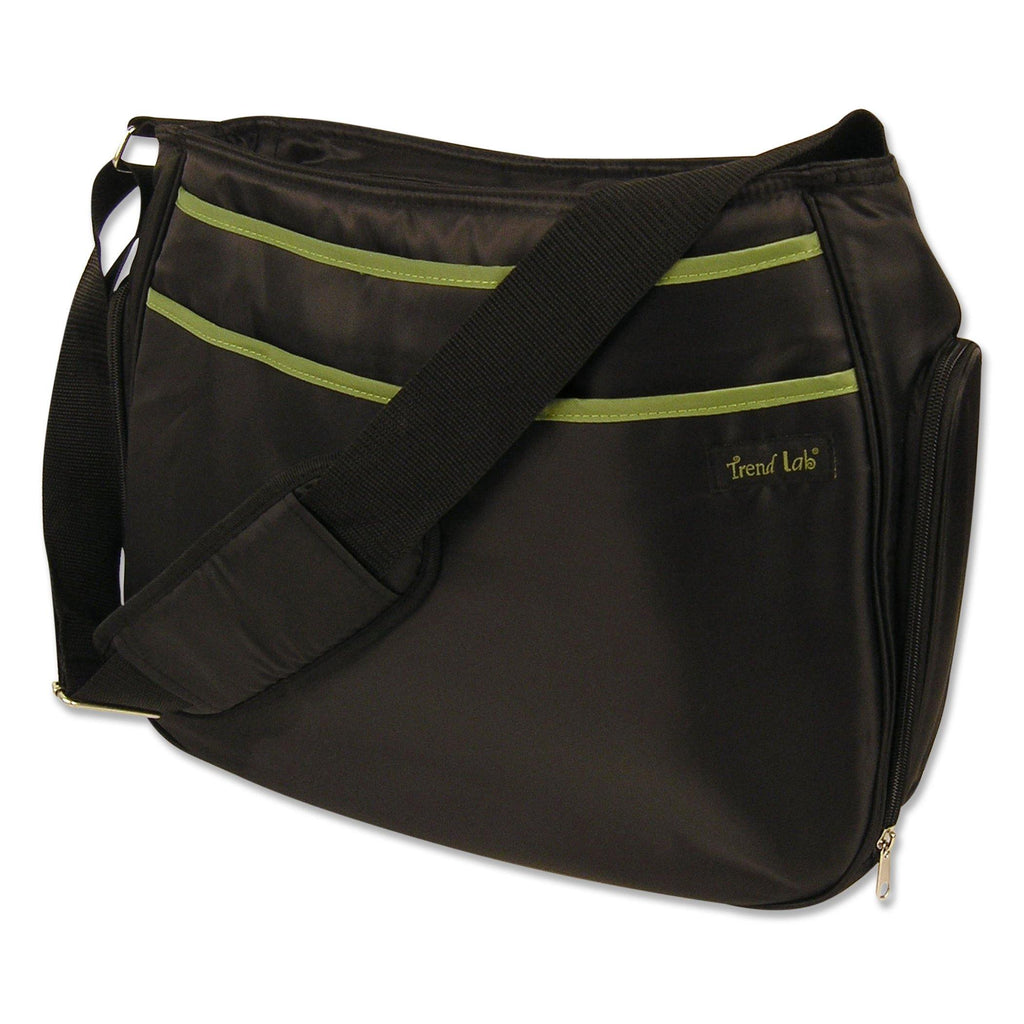 Black and Avocado Green Ultimate Hobo Style Diaper Bag104596$29.99Trend Lab