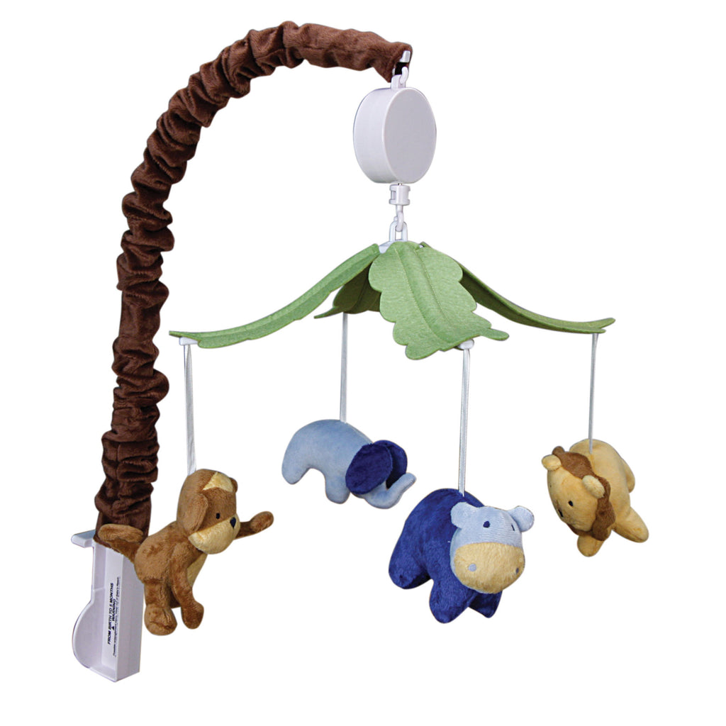 Jungle 123 Musical Crib Mobile
