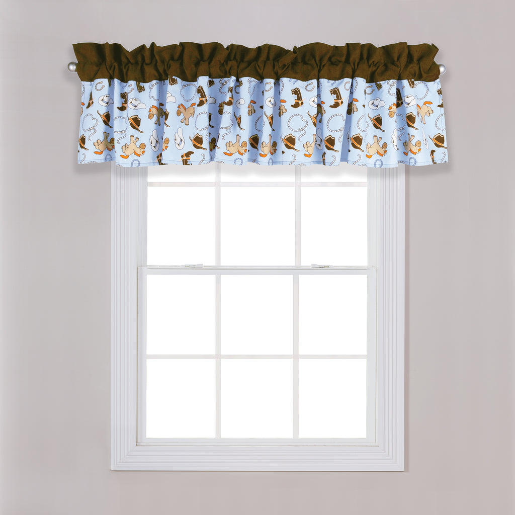 Cowboy Baby Window Valance