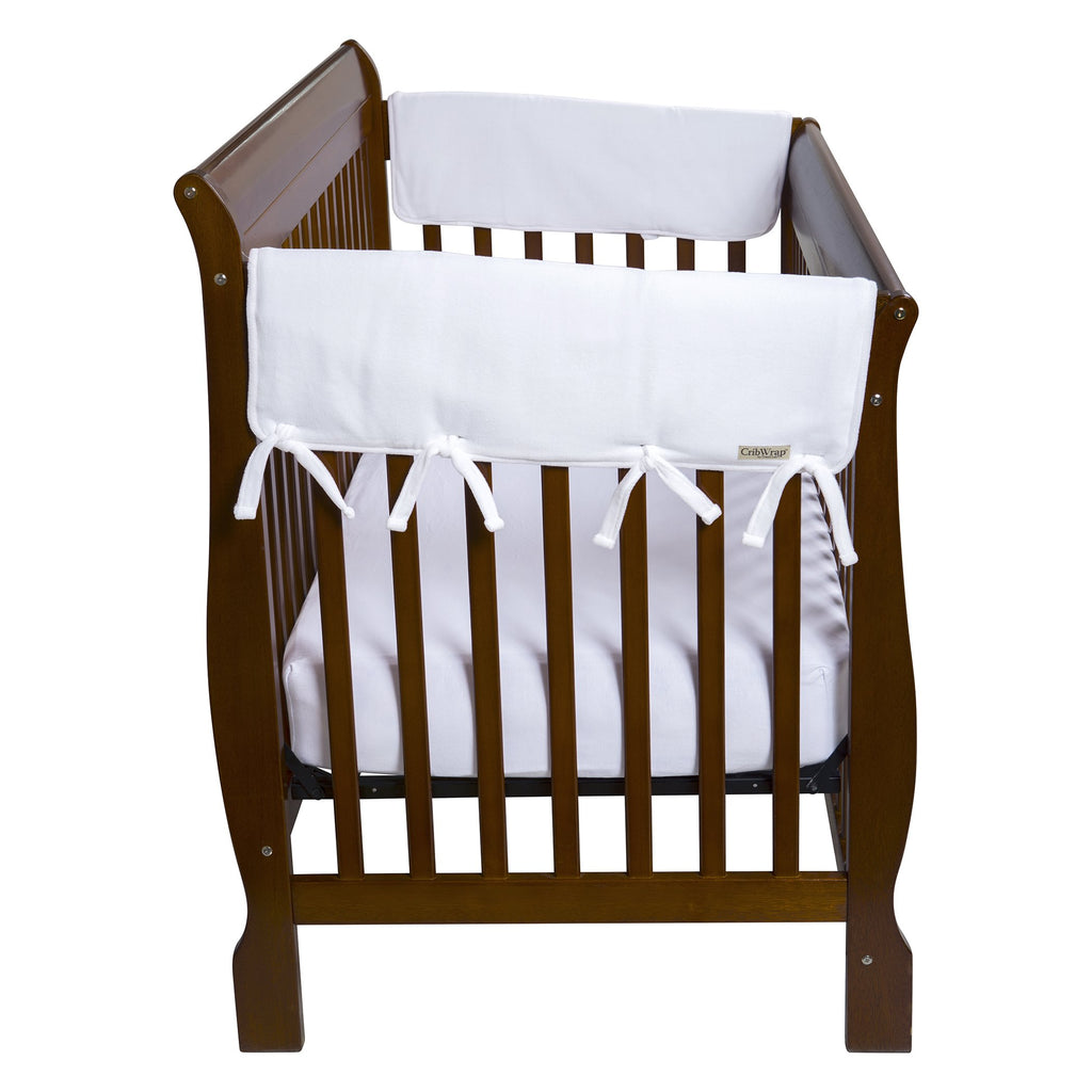 CribWrap® Wide 3 Pack White Fleece Crib Rail Cover109125$29.99Trend Lab