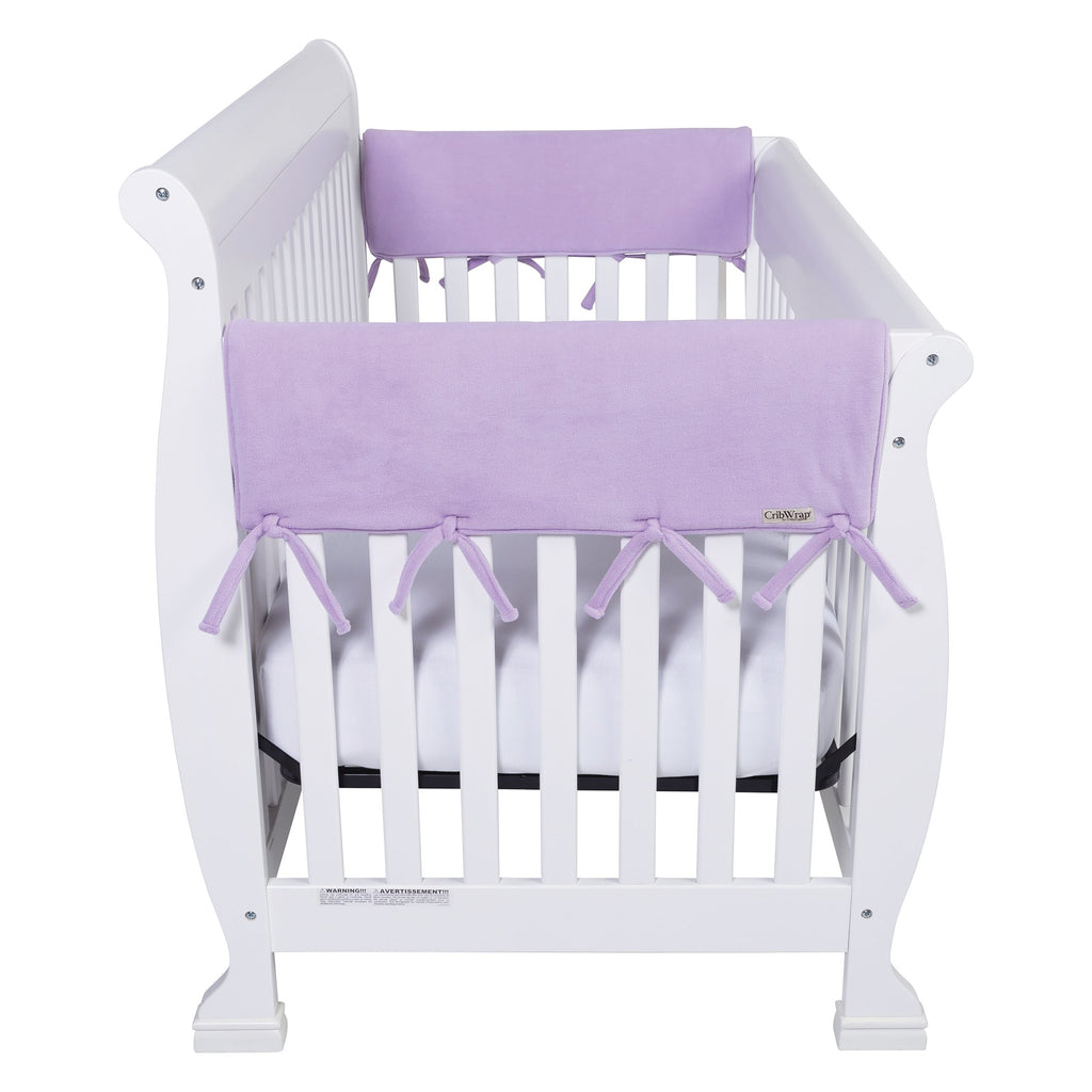 CribWrap® Wide 2 Short Lavender Fleece Rail Covers109107$19.99Trend Lab