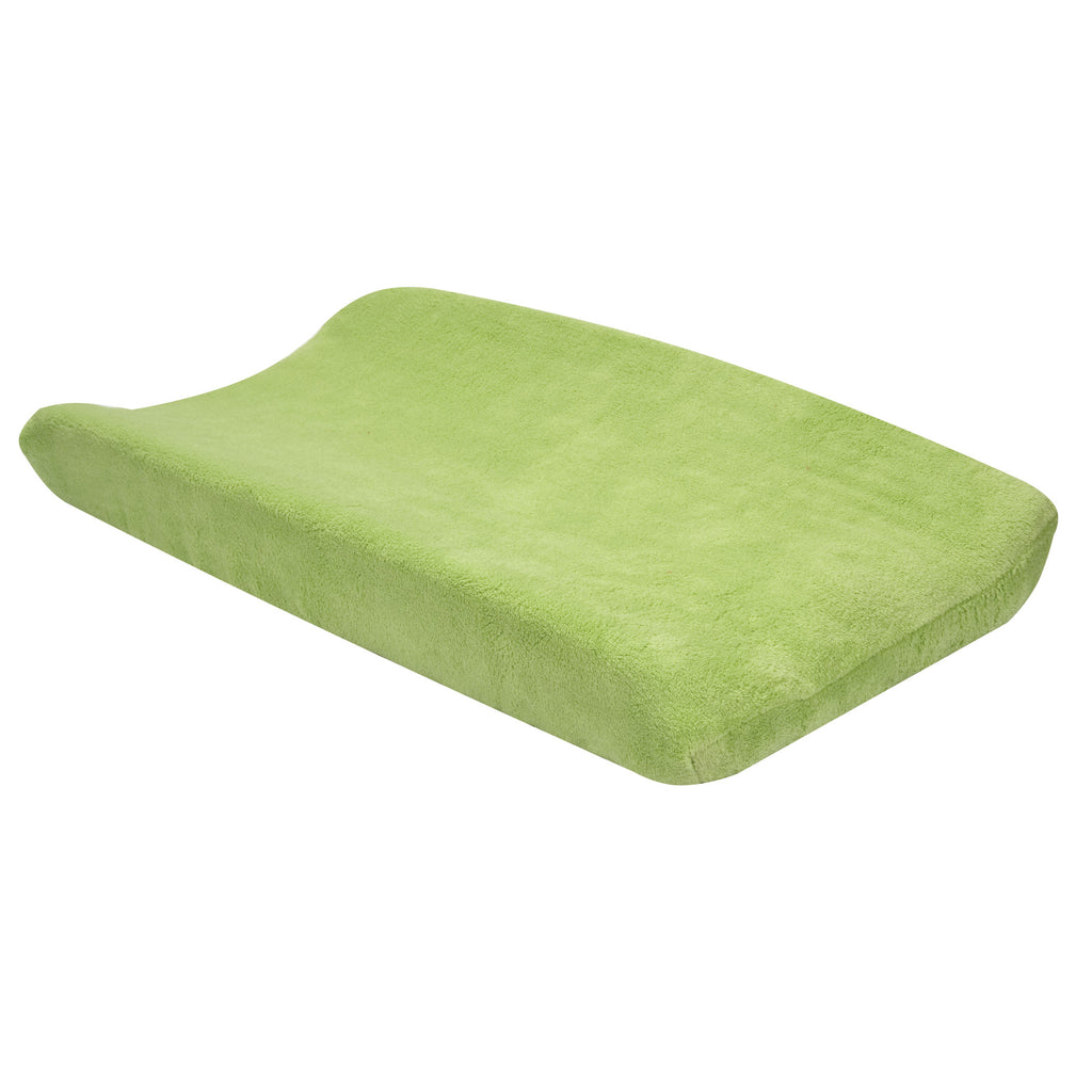 Sage Green Plush Changing Pad Cover Trend Lab, LLC