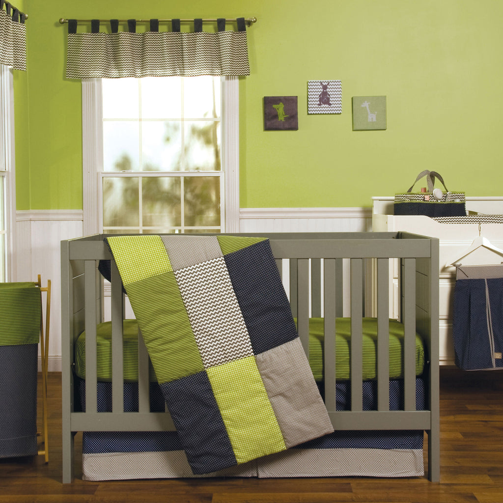 Perfectly Preppy 3 Piece Crib Bedding Set110040$79.99Trend Lab