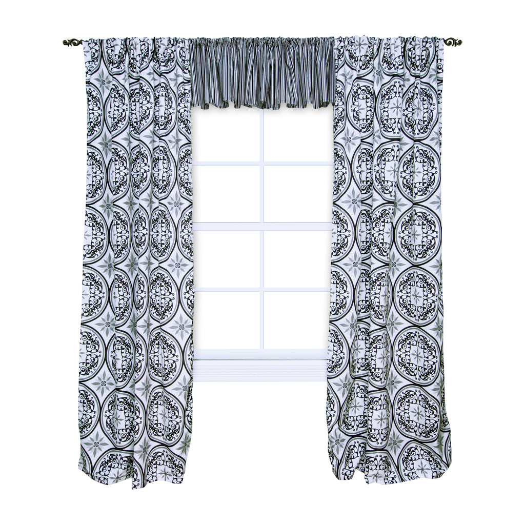 Medallions Window Drape Trend Lab, LLC