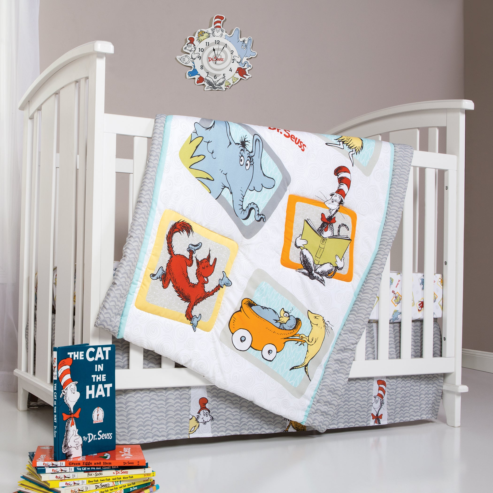 30016 Seuss Friends 5 Piece Crib Bedding Set Trend Lab Dr
