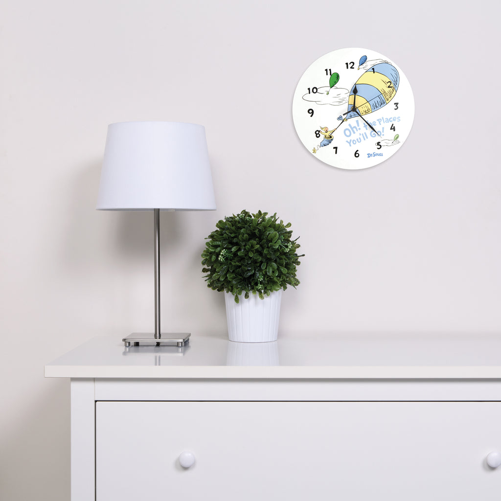 Dr. Seuss™ Oh! The Places You'll Go! Blue Wall Clock30377$21.99Trend Lab