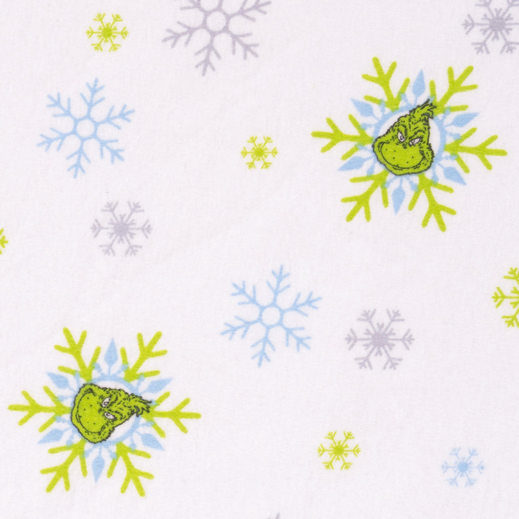 Dr. Seuss™ The Grinch Deluxe Flannel Fitted Crib Sheet30477$17.99Trend Lab