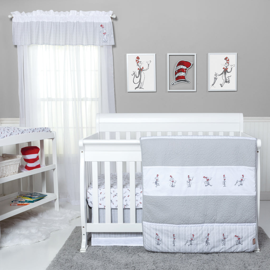 Dr. Seuss™ The Cat in the Hat Comes Back 4 Piece Bedding Set Trend Lab, LLC