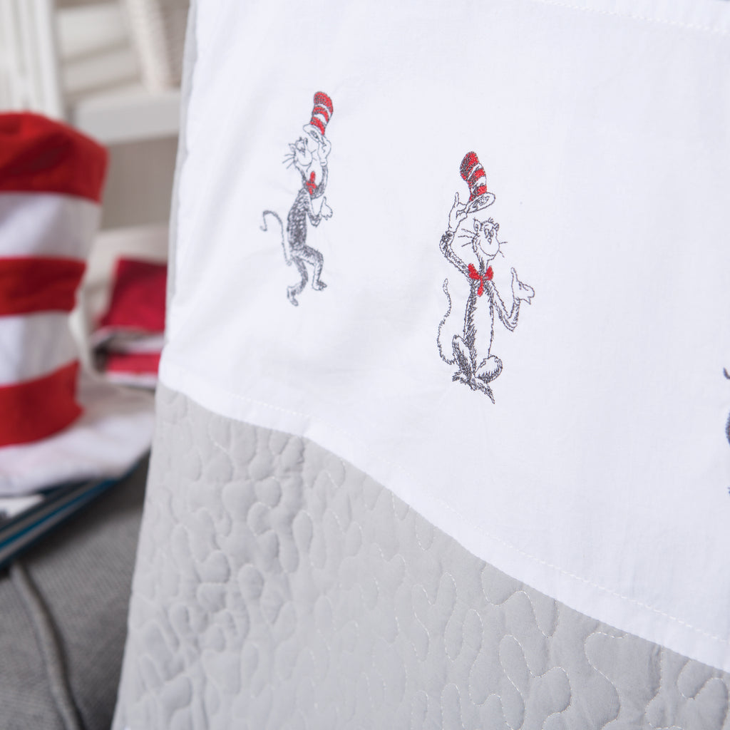 Dr. Seuss™ The Cat in the Hat Comes Back 4 Piece Bedding Set30510$99.99Trend Lab