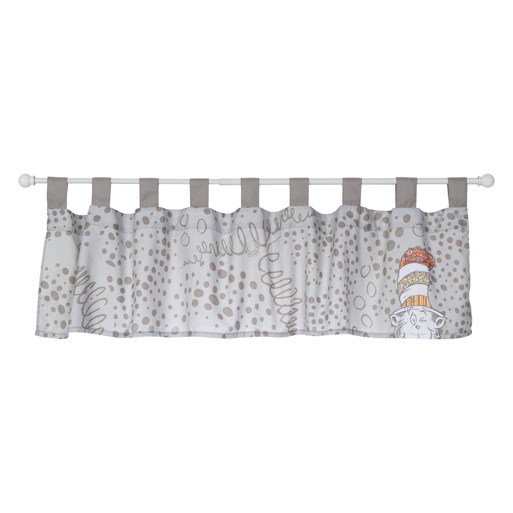 Dr. Seuss™ Peek-a-Boo Cat in the Hat Window Valance30646$14.99Trend Lab