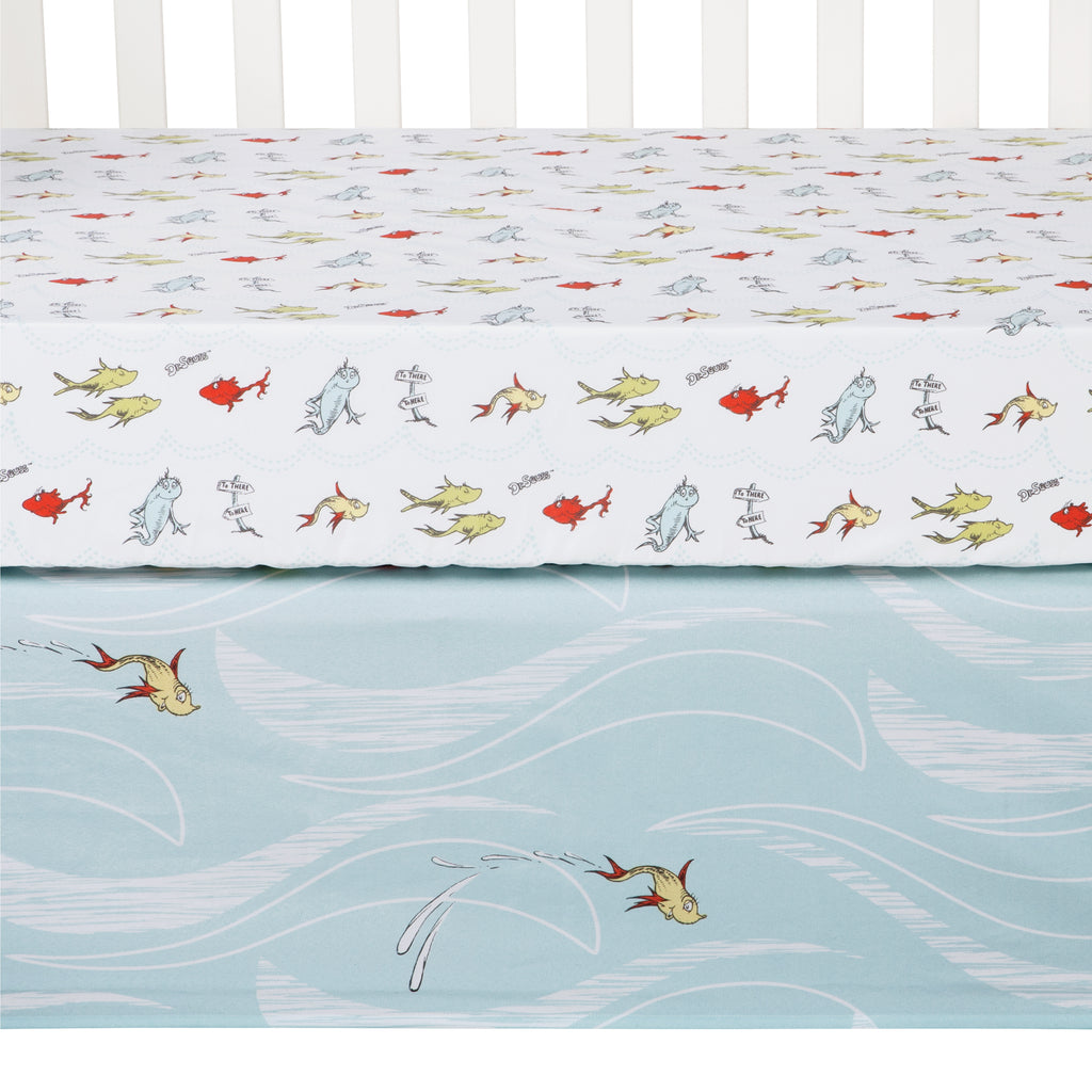 Dr. Seuss™ One Fish Two Fish 4 Piece Crib Bedding Set30727$74.99Trend Lab