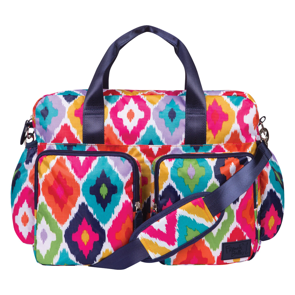 French Bull® Kat Deluxe Duffle Diaper Bag Trend Lab, LLC
