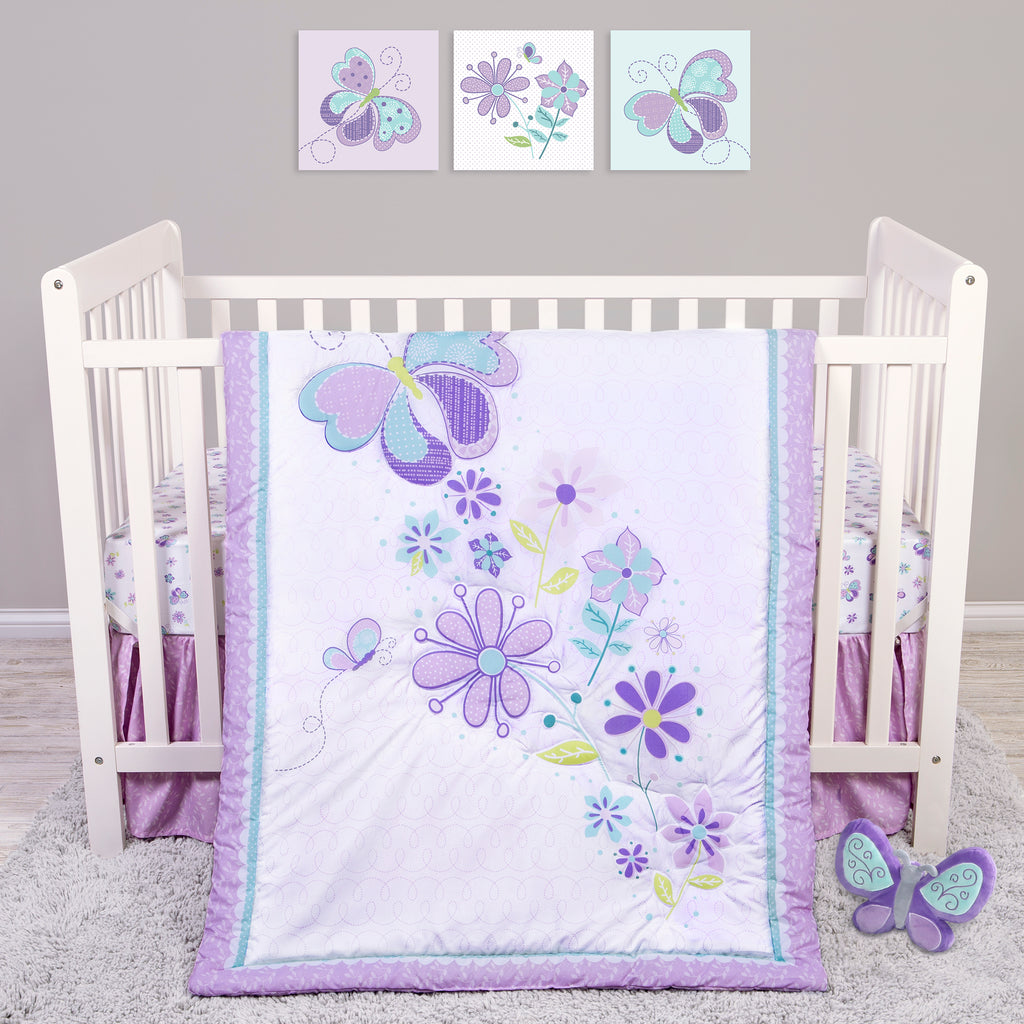 Sammy and Lou Butterfly Meadow 4 Piece Crib Bedding Set55349$69.99Trend Lab