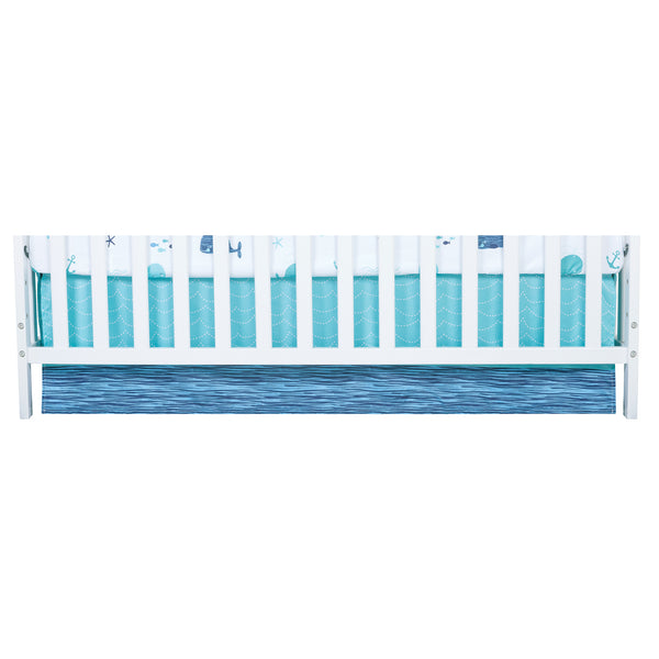 Sammy And Lou Nautical Adventure 4 Piece Crib Bedding Set