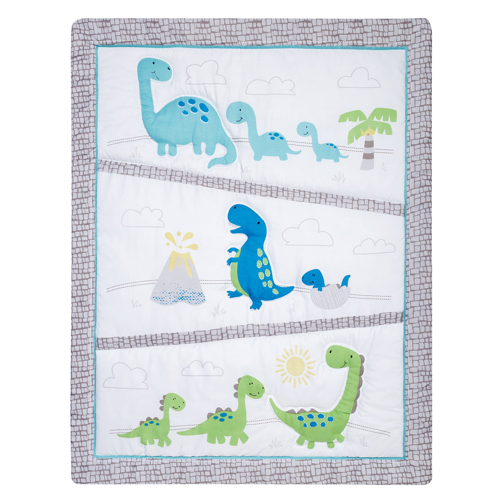 Sammy and Lou Dinosaur Pals 4 Piece Crib Bedding Set55352$69.99Trend Lab