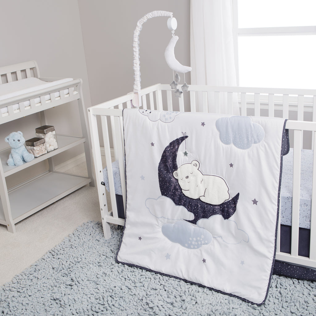 Sammy and Lou Bearly Dreaming 4 Piece Crib Bedding Set55354$69.99Trend Lab