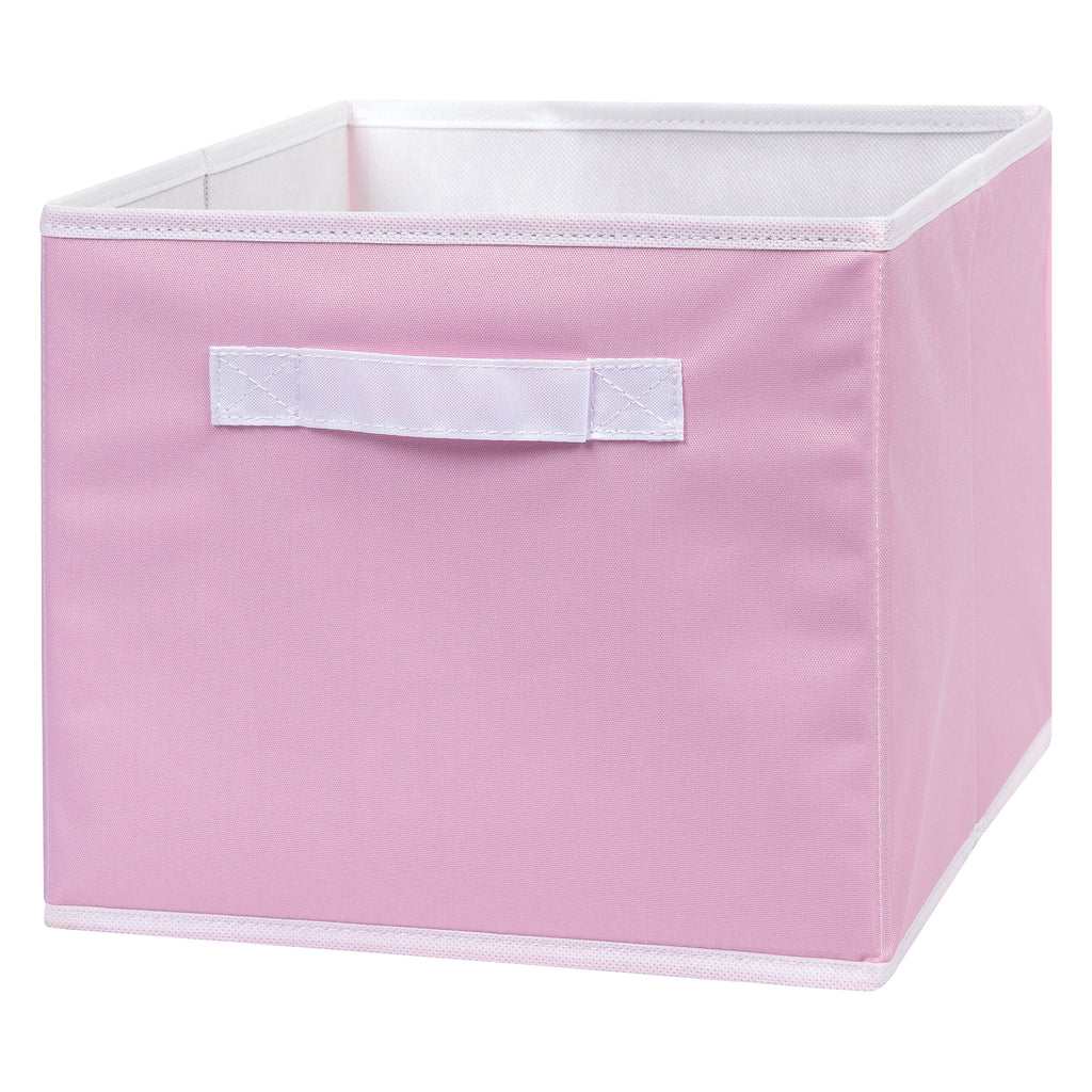 Pink Canvas Storage Bin Trend Lab, LLC