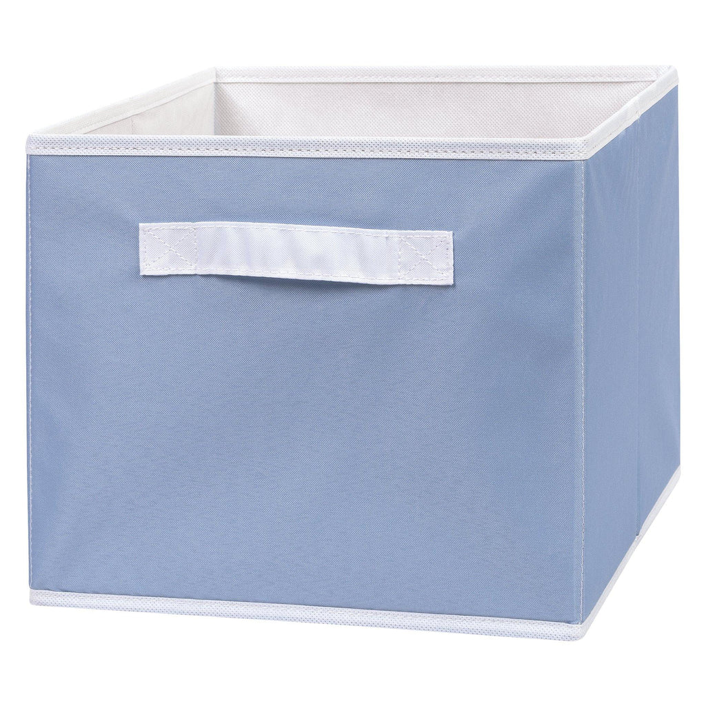 Blue Canvas Storage Bin