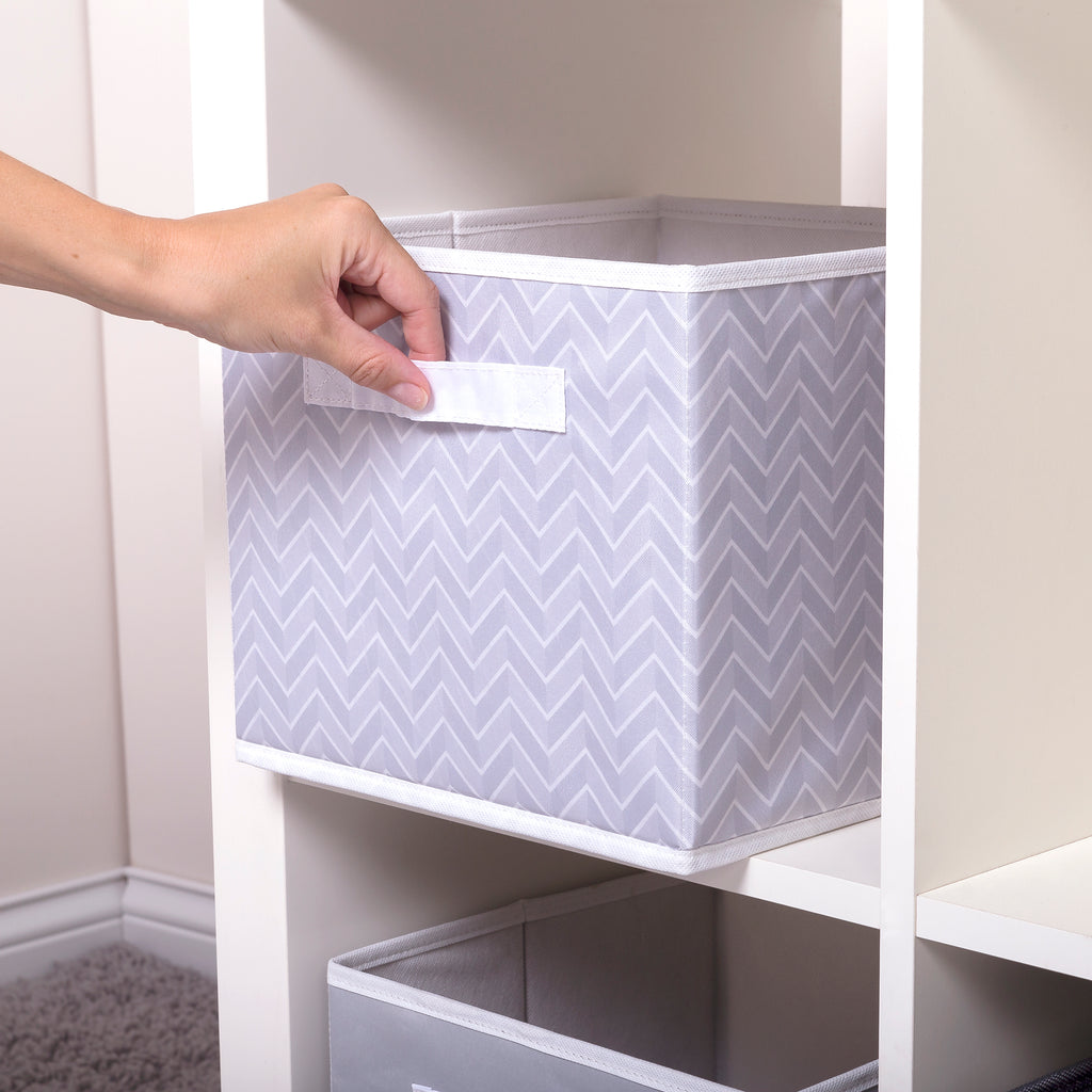 Gray Herringbone Canvas Storage Bin55387$11.99Trend Lab