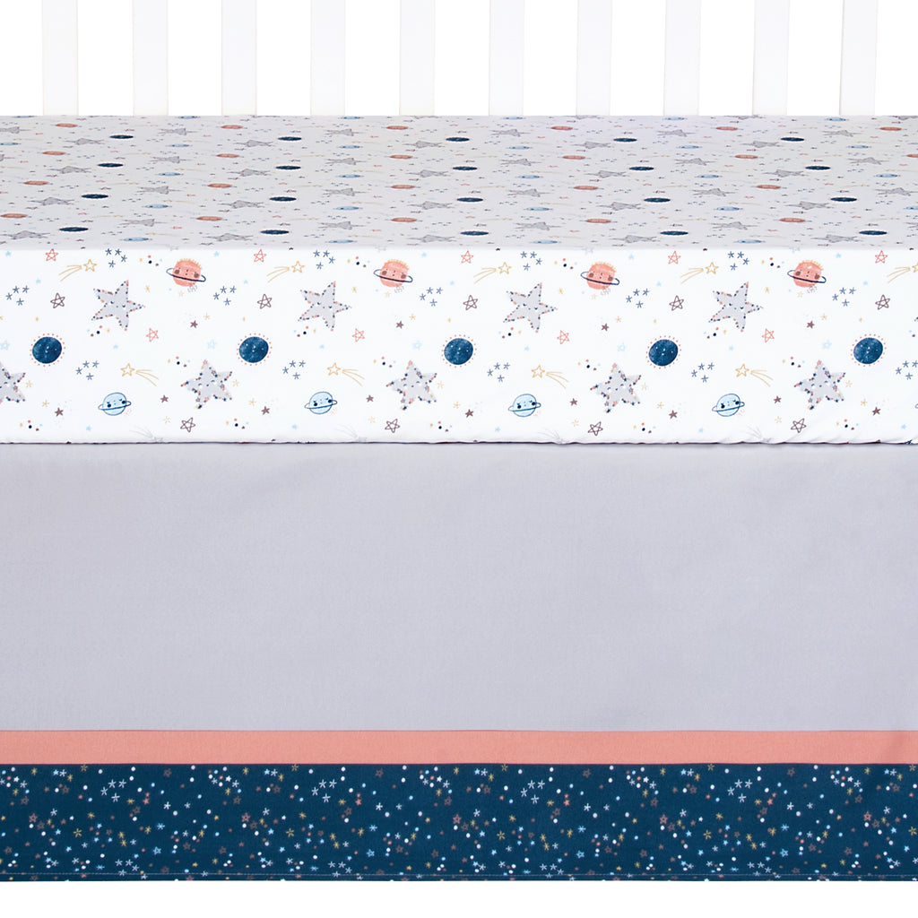Sammy and Lou Starlight 4 Piece Crib Bedding Set