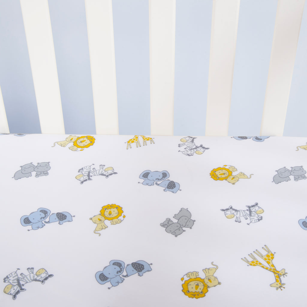 Sammy and Lou Noah's Ark 4 Piece Crib Bedding Set