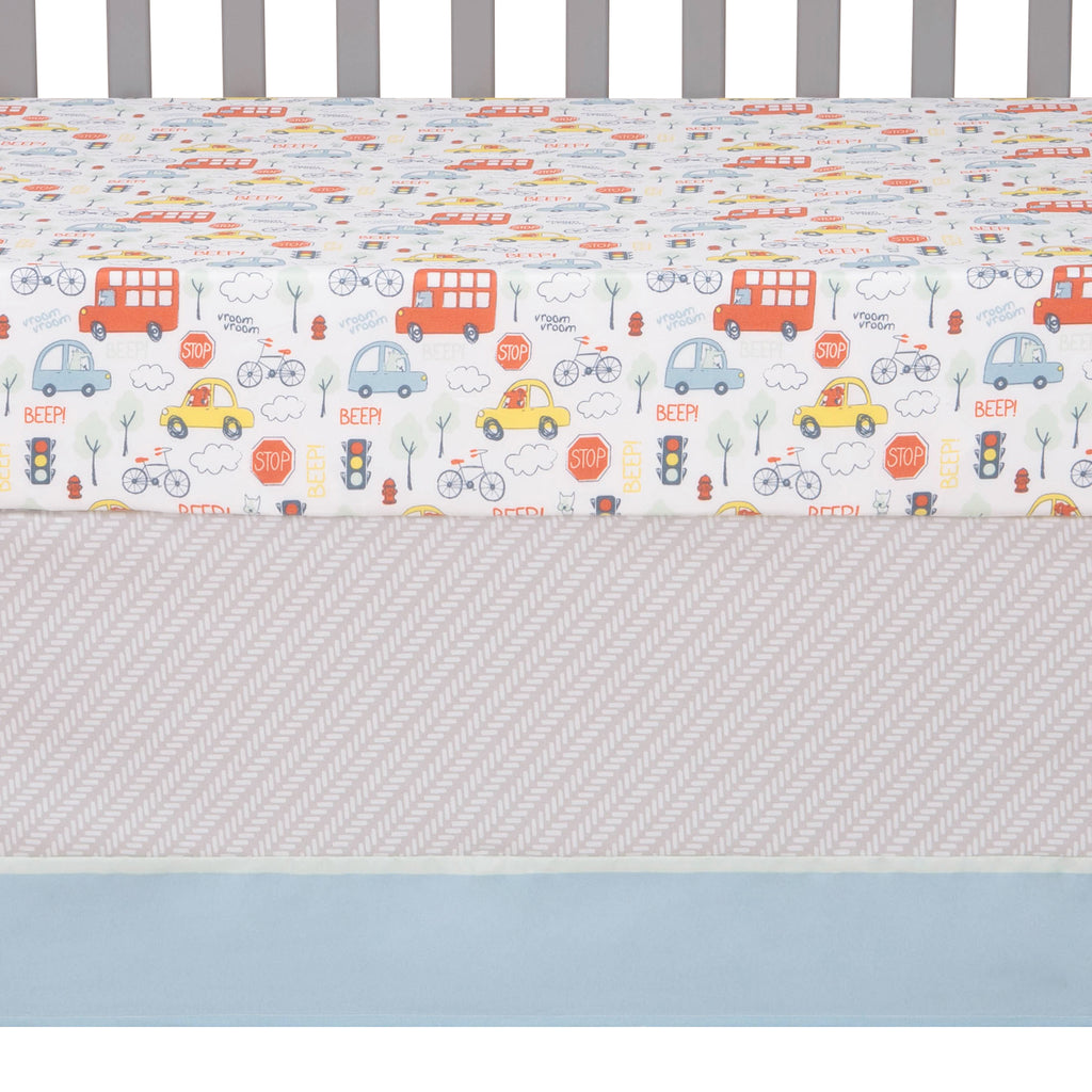 Beep Beep 4 Piece Bedding Set by Sammy and Lou55416$69.99Trend Lab