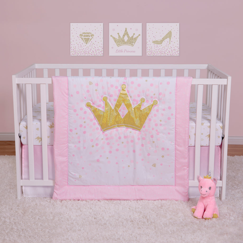 Tiara Princess 4 Piece Crib Bedding Collection by Sammy and Lou55417$69.99Trend Lab