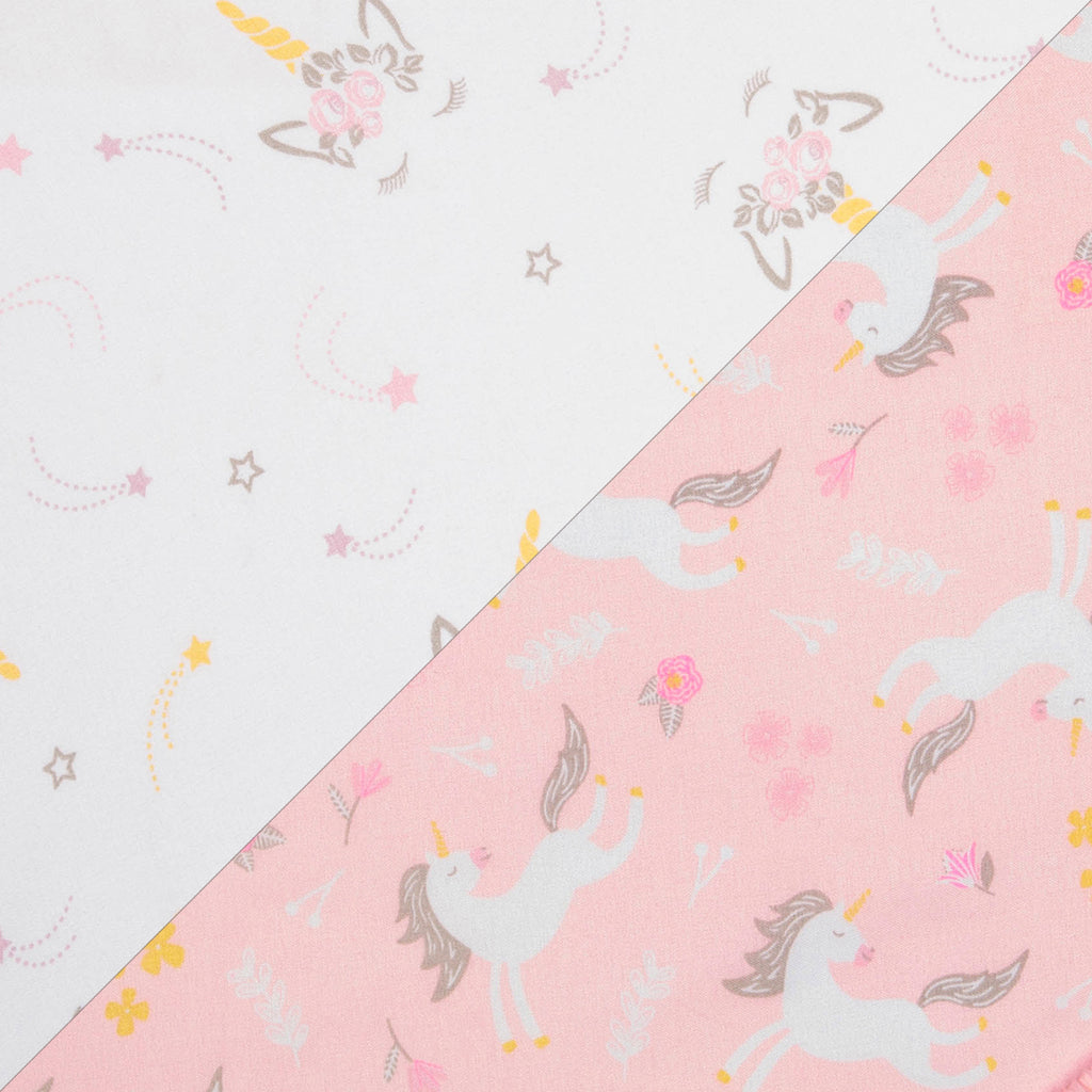Mystical Unicorn 2- Pack Microfiber Fitted Crib Sheet Set by Sammy and Lou55453$17.99Trend Lab