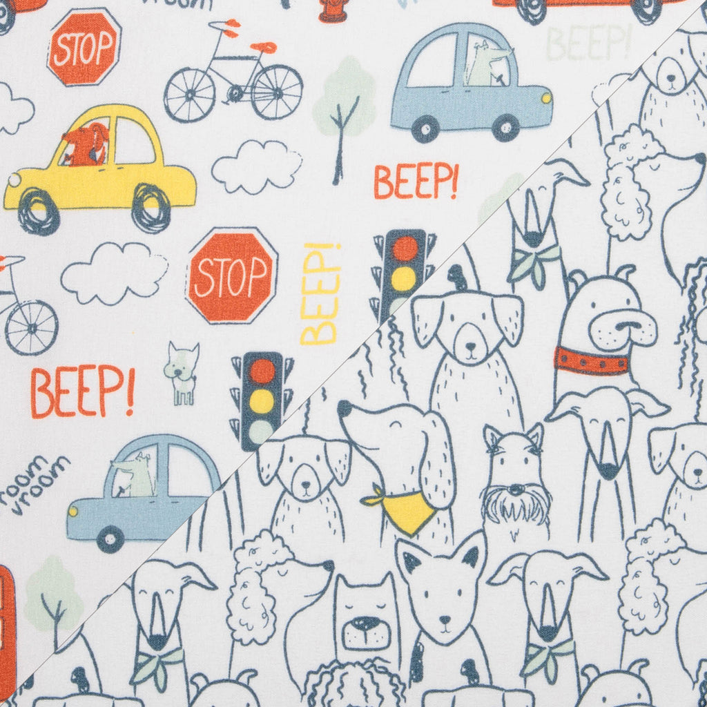 Transportation Pups 2-Pack Microfiber Crib Sheets by Sammy and Lou55454$17.99Trend Lab