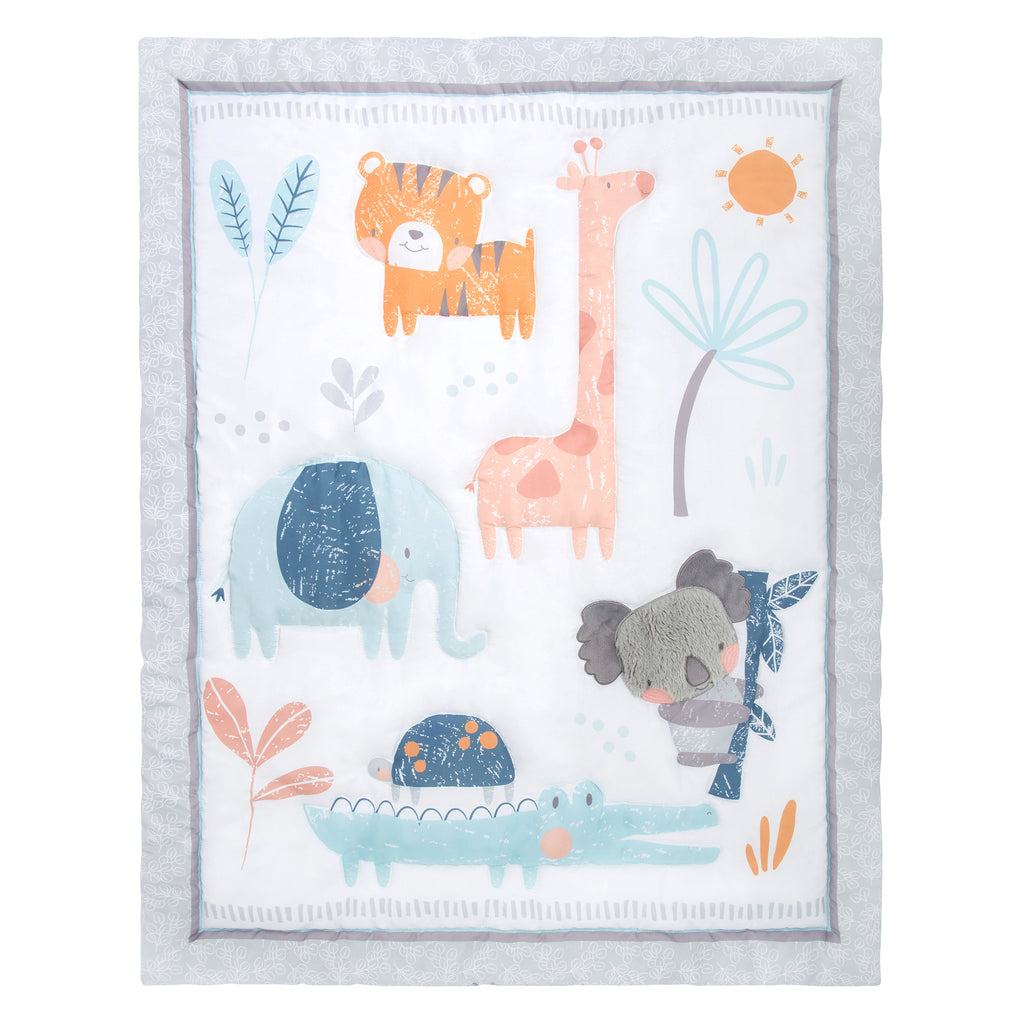 Koala & Friends Crib Bedding Quilt