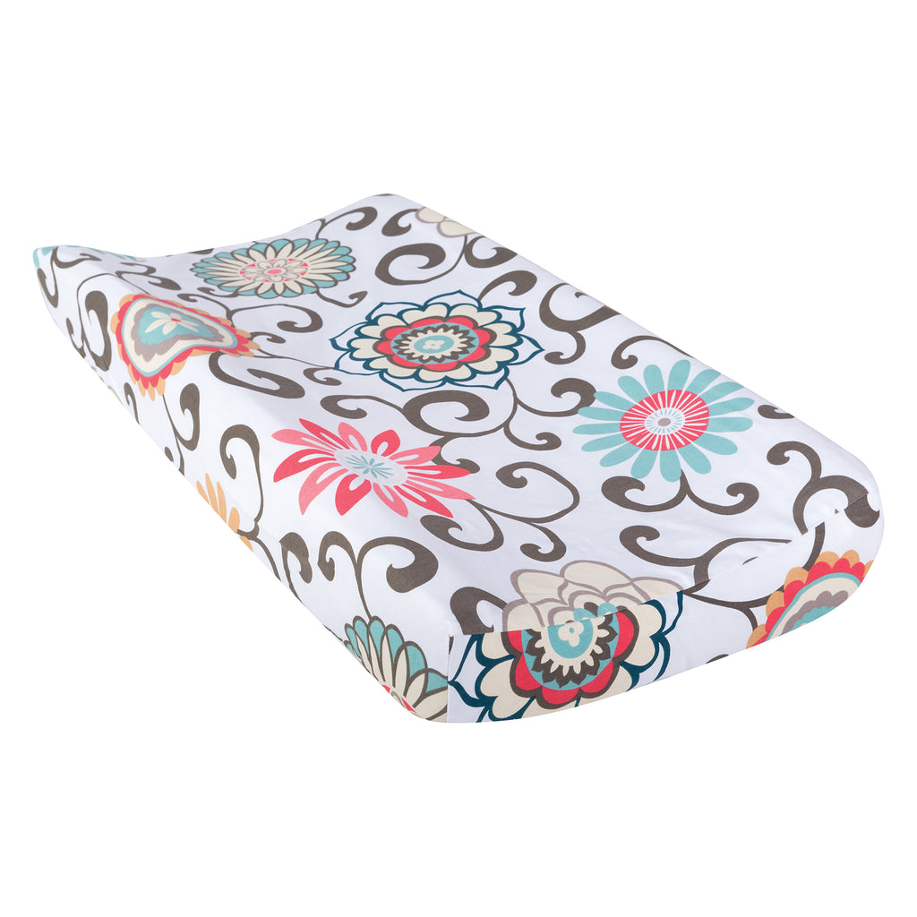 Waverly® Baby Pom Pom Play Changing Pad Cover71057$14.99Trend Lab