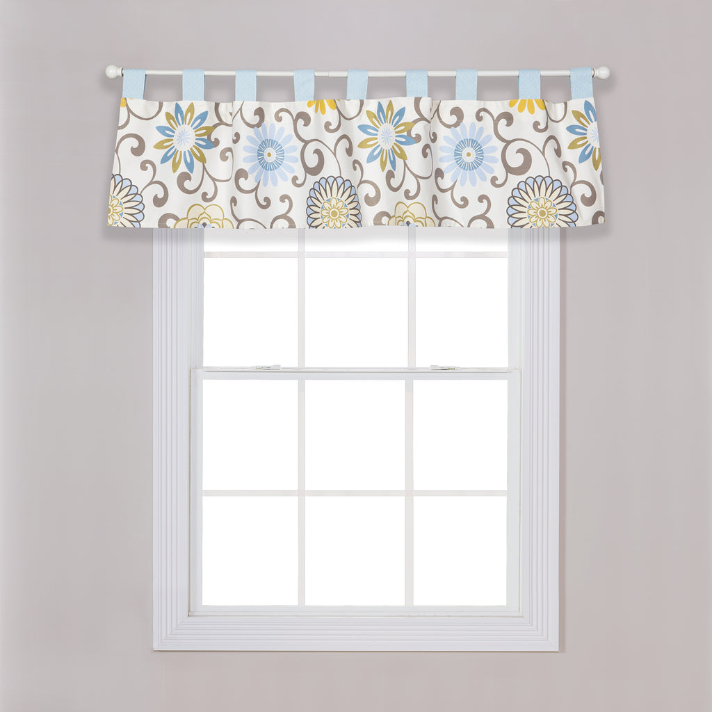 Waverly® Pom Pom Spa Window Valance