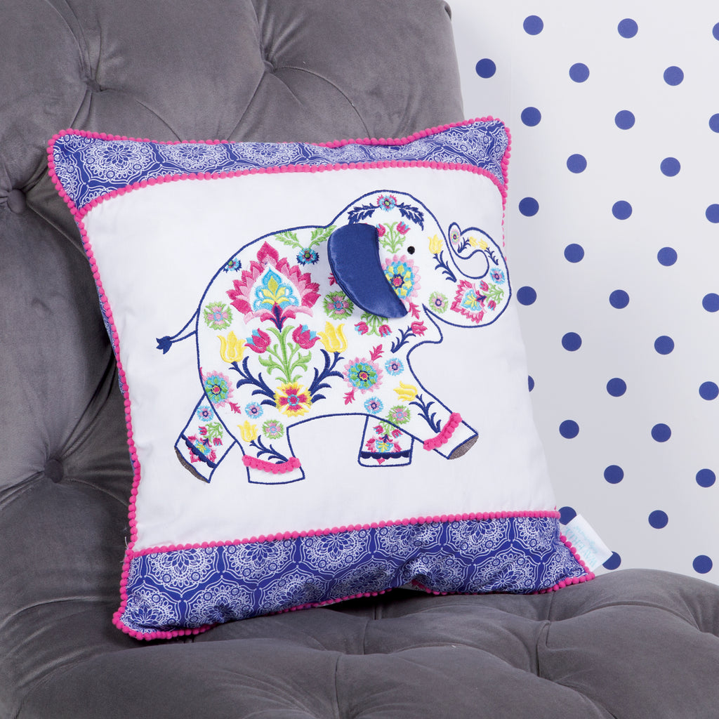 Waverly® Santa Maria Henna Elephant Decorative Pillow Trend Lab, LLC