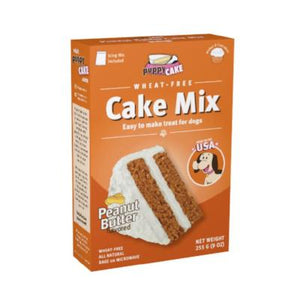 Wheat-free Peanut Butter Cake Mix for Dogs