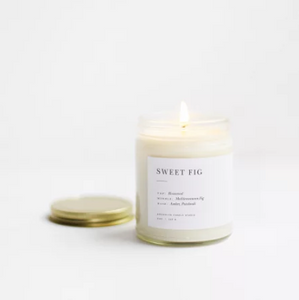 Sweet Fig Soy Candle