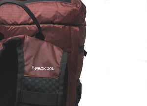 E-Pack + Stow And Go Blanket (Maroon)