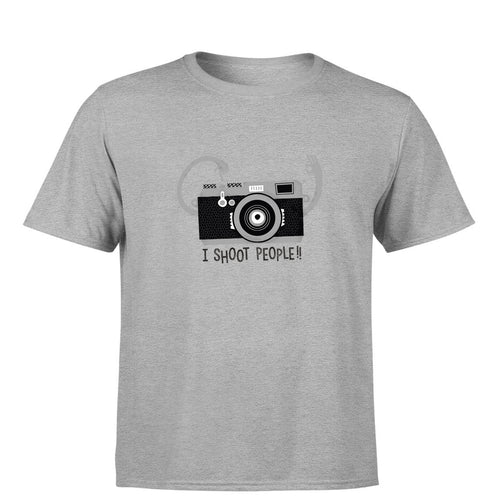 I Shoot People - Photography Men's T-Shirt