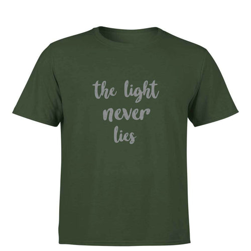 The light never lies - Photography Men's T-Shirt
